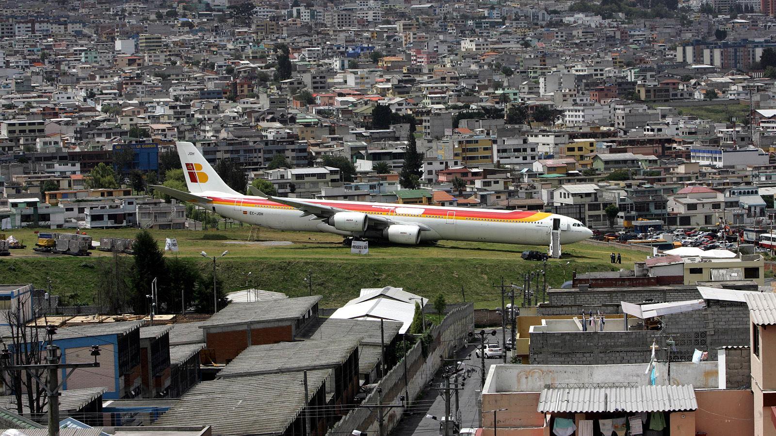 Ecuador Plane